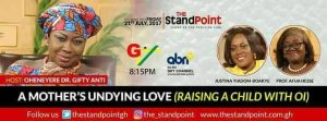RAISING A CHILD WITH OI DISCUSSED ON THE STAND POINT SHOW – GTV